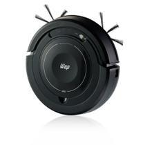 Robô Aspirador Automatico Com Controle Remoto De Pó Wap W100 - Preto - Bivolt -