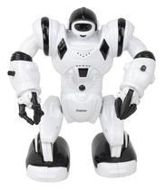 Robô Calvin 001 infantil musical de brinquedo ROBOTS divertido com luzes e som - Bbr Toys