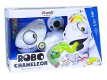 Robo Camaleão Com Controle Remoto Luz Led Colorida Dtc -
