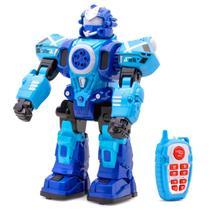 Robo Controle Remoto Lanca Dardos Anda Danca Luz Som 9032 - Mega Compras