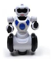 Robo Dançarino Brinquedo Infantil Som - Moving - 1038 - Polibrinq