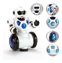 Robô Dançarino Infantil Robot Brinquedo Com Luz Som Dancing - Cx Toys - Polibrinq