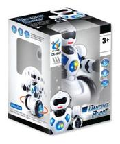 Robô Dancing Robot Branco 1038 - Polibrinq -