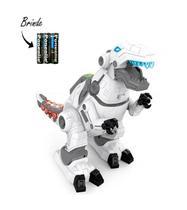 Robô Dinossauro Tiranossauro Rex Brinquedo Infantil Com Luz Som e Movimento - 99Toys