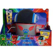 Robô Do Pj Masks Robot Com Movimento Luz E Som Original Dtc -