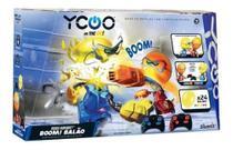 Robô Kombat Boom  Batalha Com Cabeça De Balão Dtc -