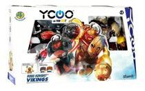Robô Kombat de batalha Boxeadores Vikings Silverlit C/ controle remoto - DTC -