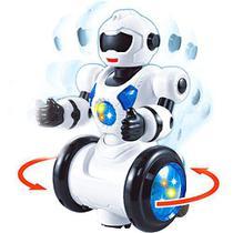 Robô Moving Dancing Movimentos Luzes E Música - Polibrinq