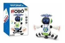 Robô Que Dança Gira Com Luzes Led E Musical - Brinquedo - Emporio Magazine