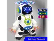 Robo som luz movimento brinquedo dance robot - Yijun -