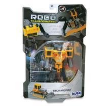 Robô Transformável Escavadeira - Buba -