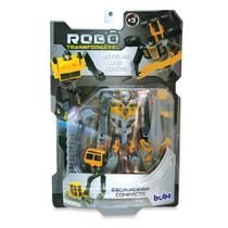 Robô Transformável - Escavadeira Compacta - Buba -
