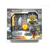Robô Transformável Missão Tática Misturador De Cimento 9509 - Buba -