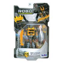 Robô Transformável - Misturador de Cimento - Buba -