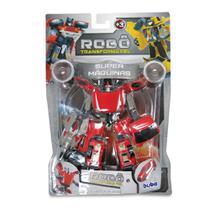 Robô Transformável - Super Máquinas 2091-2 - Buba -