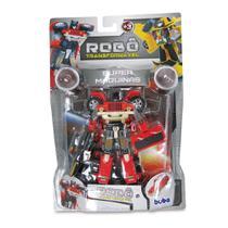 Robô Transformável - Super Máquinas 2091-3 - Buba -