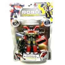 Robo Transformavel Super Maquinas 2091 Buba -