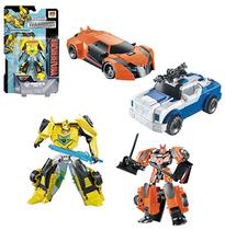 Robo transforme carro/dinossauro warrior colors - Dm brasil