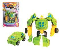 Robô transforme carro hero squad deformation - Wellmix