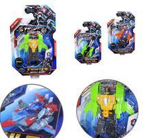 Robô Transforme Strike Super Hero Modelos Sortidos - Wellmix