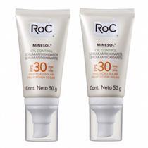 Roc Minesol Oil Control Serum Antioxidante Fps 30 2 Unidades -