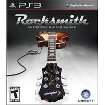 Rocksmith Authentic Guitar Games - PS3 - Ubisoft