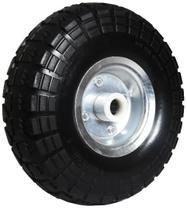 """Roda 350-4 Pneu maciço 10.1/2 polegada com rolamento rolete 1"""" - Colson"""