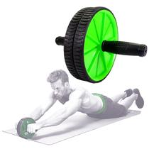 Roda Abdominal Aparelho Lombar Exercício Abwheel Com Apoio - MBfit
