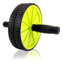 Roda Abdominal para Treinos Exercícios Academia Mbfit -
