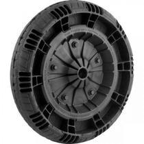 Roda Completa com Pneu Macico 14  Eixo 1  Flex Border - Fluir