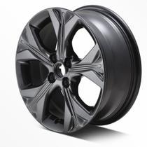 Roda De Aluminio Preta Aro 16 Acessorios Onix Plus Sedan onix Hatch 26217502 - Acessorios Chevrolet