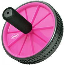 Roda De Exercício (Exercise wheels) - Rosa - Liveup -