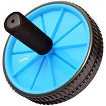 Roda de Exercicios Abdominais na Cor Azul  Liveup -