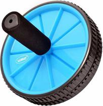 Roda De Exercícios Para Abdominal Azul Liveup -