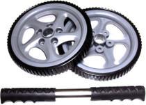 Roda de Exercícios Plus Exercise Wheels - LIVEUP LS3160B -