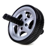 Roda De Exercícios Plus (Exercise wheels) - Prata - Liveup -