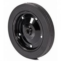 Roda de pneu maciço RPM403A  com rolete  Metalpama -