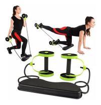 Roda Exercicio Elastico Aparelho Abdominal Revoflex Xtreme -
