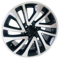Roda L3 Aro 20x8,5 6x114 Preta Diamantada KR -