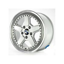 Roda M14 Aro 17x7 5x120 Prata Diamantada KR -