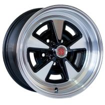 Roda M8 Aro 14x6 5x114 Face e Borda Diamantada KR