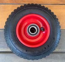 Roda Para Carrinho De Carga 2.50-4 Com Camara E Rolamento - Lotus