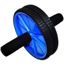 Roda Para Exercício Abdominal Lombar Rolinho + Tapete - Quem Ver Compra