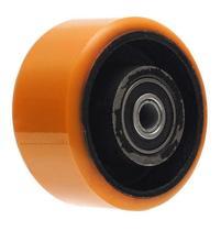 Roda polipropileno pu 42 nucleo de Ferro Com rolamento 400 kg 4 polegadas - Ajax
