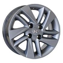 Roda R43 Aro 15x6 4x100 Grafite Fosco KR -