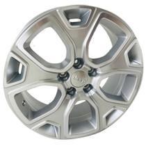 Roda R76 Aro 18x7 5x110 Prata Diamantada KR -