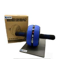 Roda Rolinho Extra Exercícios Abdominal Musculação Com Mini Tapete - Katatop