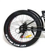 Roda traseira aro 26 e motor Fat Bike Elétrica Eco Zone - Fat Bike Brasil