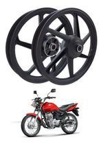 Rodas Liga Leve Honda Fan 125 09 Ks 6 Palitos Freio Tambor - MAX