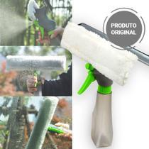 Rodo Limpa e Seca Vidros Mop 3 em 1 Spray com Reservatório 250ml Multifuncional - Clink